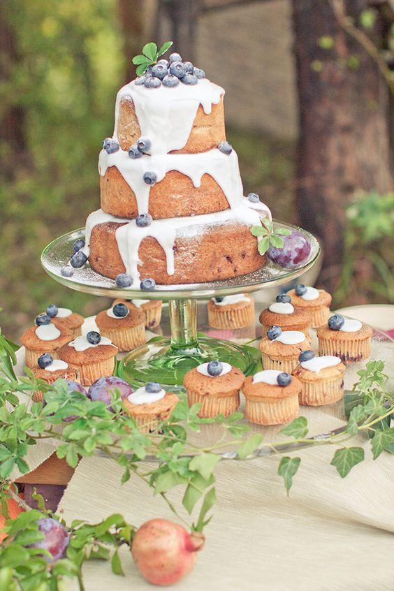 心がときめくウェディングケーキ