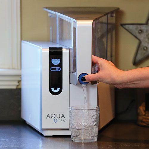 Aquatru Countertop Reverse Osmosis Water Purifier Countertop Water Filter Water Purifier Reverse Osmosis Water Filter