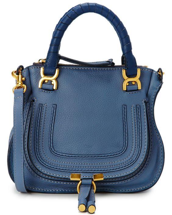 "Chloe ""Marcie"" Mini Leather Satchel is on Rue. Shop it now."