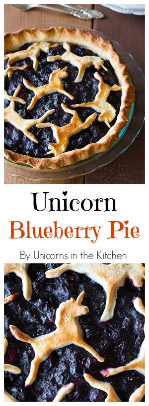 Blueberry pies, Unicorns and Blueberries on Pinterest