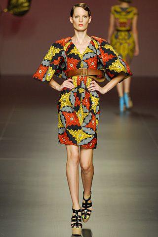 Juanjo Oliva, runway, print, fashion