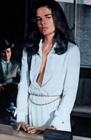 "Ali MacGraw in ""The Getaway""...great film and the catylyst for the real life romance between Steve and Ali..."