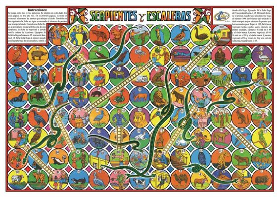 El juego de Serpientes y Escaleras