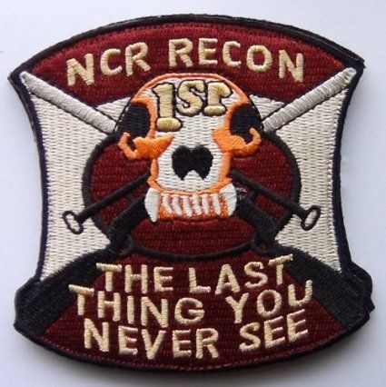 NCR Recon Fallout New Vegas Gamer Patch Cosplay