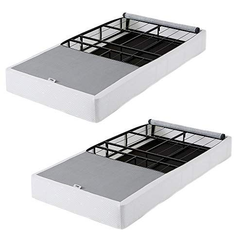 Intellibase Lightweight Easy Fold Metal Box Spring And Coverlet Twin 2 Pack More Info Could Be Found At The Image Url This Is An Twin Box Spring Metal Box Mattress