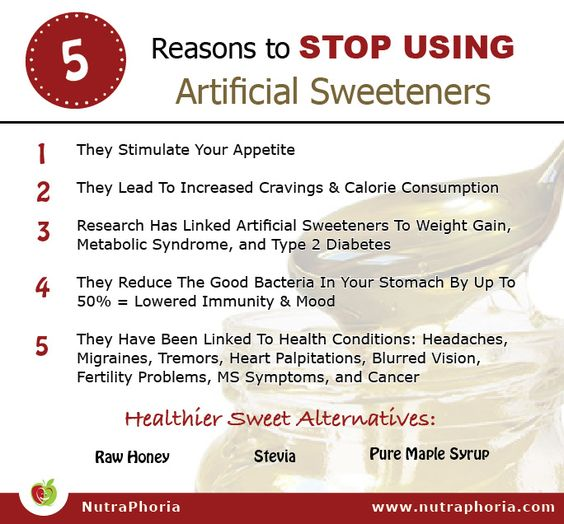 Are Artificial Sweeteners Really That Bad for You?
