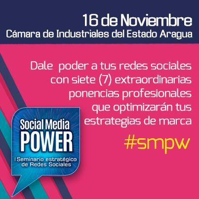 16 de Noviembre, 7 extraordinarias ponencias en el #SMPW