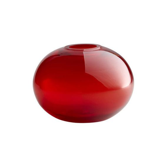 Cyan Design 00971 Small Red Pod Vase In Red Finish In Home Decor
