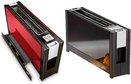 Ritter Volcano 5 Is A Slim Toaster Made Of Glass house