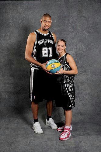 Spurs Tim Duncan & Becky Hammon | Go! Spurs! Go ...