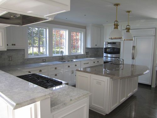 27 Antique White Kitchen Cabinets [Amazing Photos Gallery | Granite  Countertops, Countertops And Granite