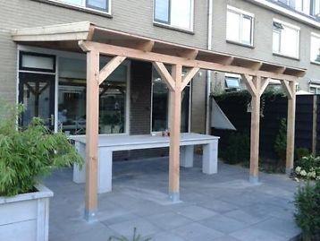 Hout terras overkapping veranda hout nu al vanaf 1098 00 overige tuin en terras - Terras hout ...
