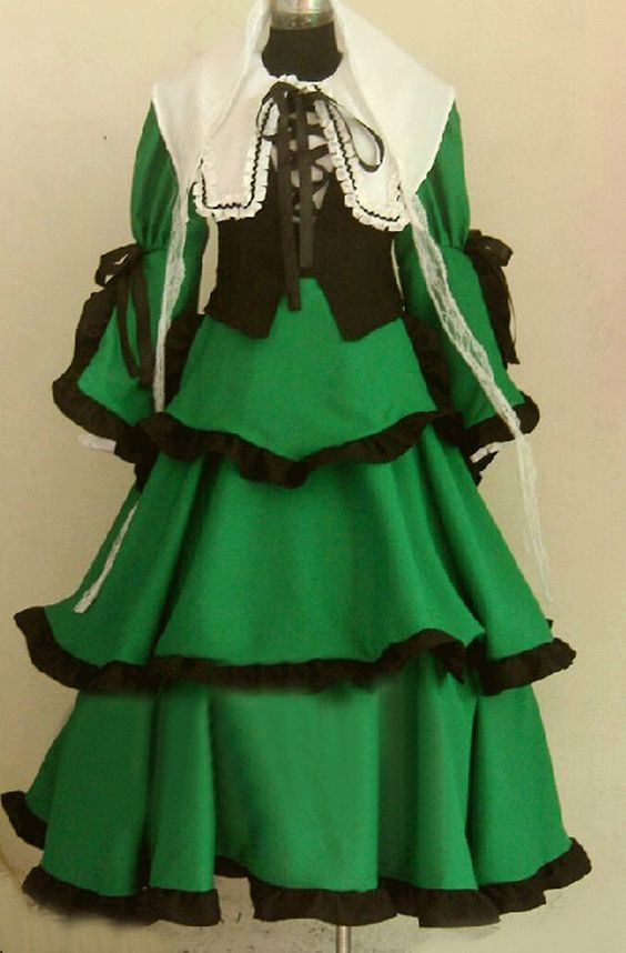 Onecos Rozen Maiden Souseiseki Cosplay Costume * Read more reviews of the product by visiting the link on the image.