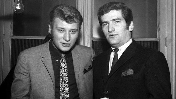 """valmad sur Twitter : """"Johnny Hallyday et Eddy Mitchell au Golf Drouot le 25 fevrier 1966 https://t.co/auc3cqEmhb"""""""