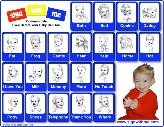 Sign Language  Baby Signs    Language Children And Babies