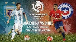 [EN VIVO] Argentina Vs Chile - FINAL Copa América Centenario - YouTube