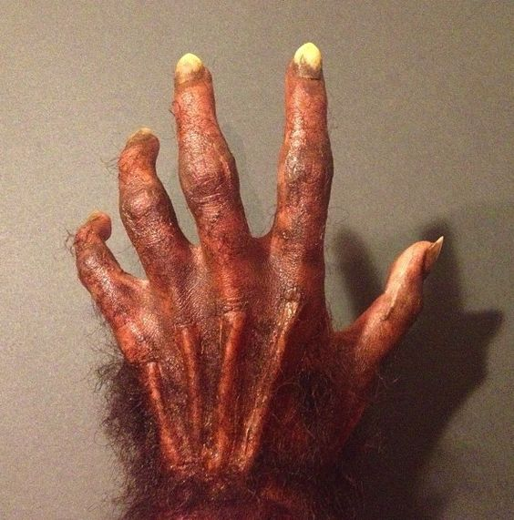 Werewolf Hand special effects makeup for halloween Check out the ...