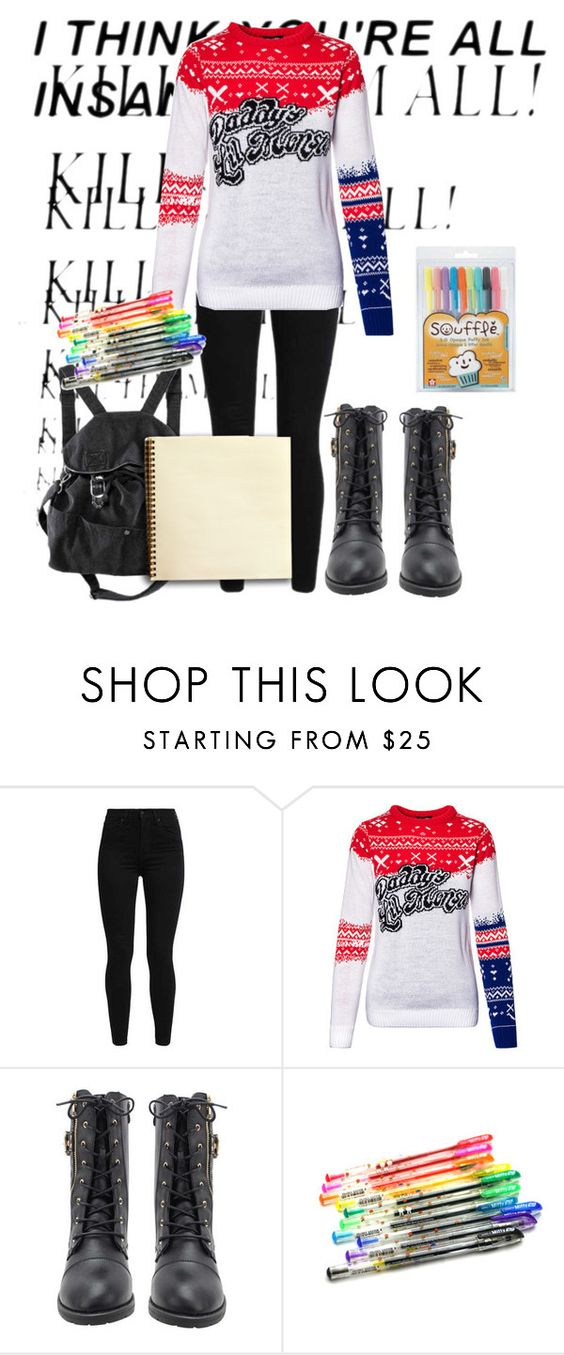 """Happy New Year Guys!"" by emochildishere ❤ liked on Polyvore featuring Levi's and H&M"