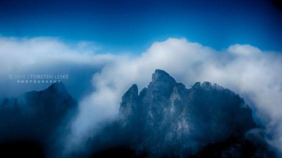 Dramatische Alpen