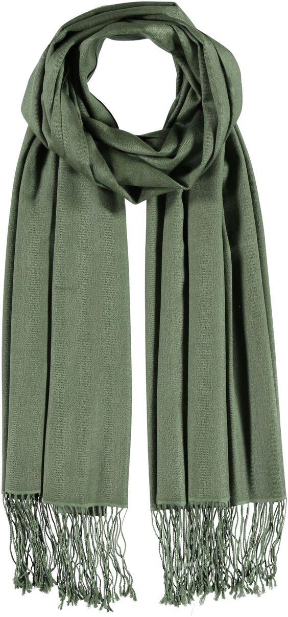 Beim Shoppen auf Qualität achten! Dieser tolle Schal ist aus Cashmere und Seide