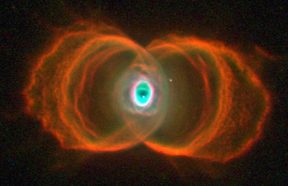 Hour Glass Nebula......LIke the Eye of God in the Center......
