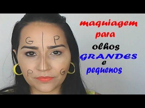 Assista esta dica sobre Maquiagem para olhos grandes e olhos pequenos e muitas outras dicas de maquiagem no nosso vlog Dicas de Maquiagem.