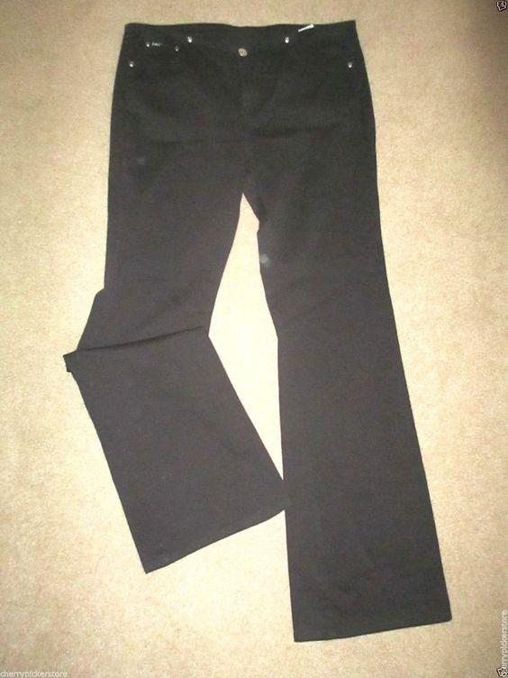 l.e.i. Jeans size 13 Black Stretch Flare  #lei #Flare