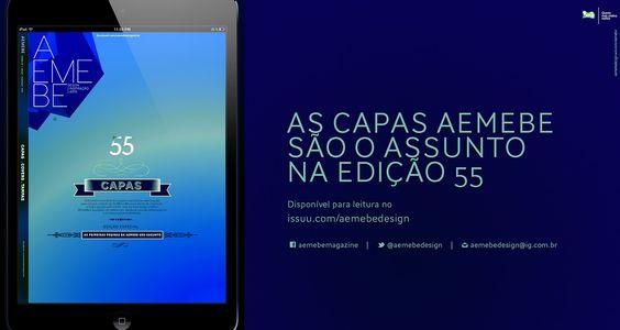 AEmeBe edição 55 issuu.com/aemebedesign facebook.com/aemebemagazine