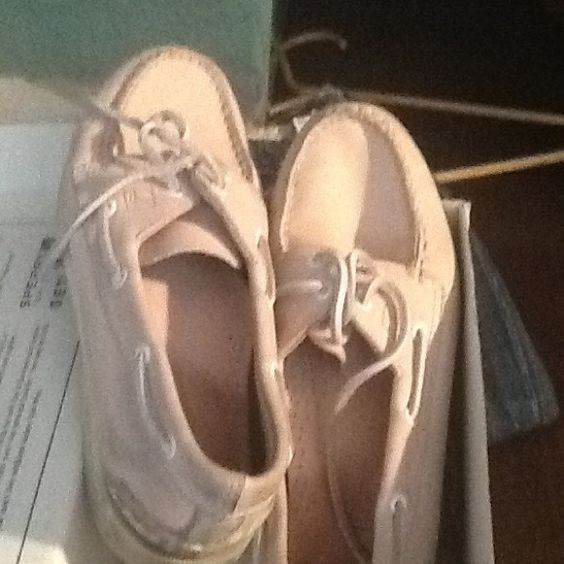 Sherry Pink and white sperrys Sperry Top-Sider Shoes