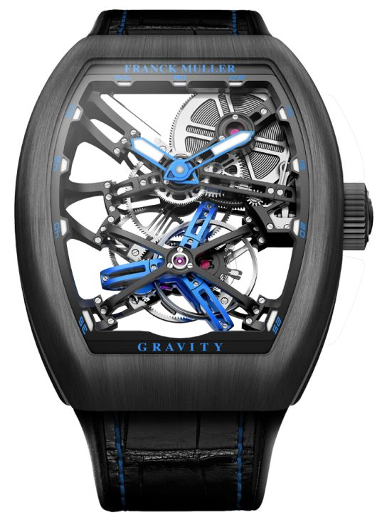 Franck Muller Vanguard Gravity Skeleton V45-T-GRAVITY-CS-SQT-NR