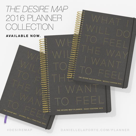 The 2016 Desire Map Planner Collection