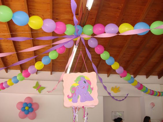 Fiesta de my little pony decoraciones de fiesta de my for Buscar decoraciones