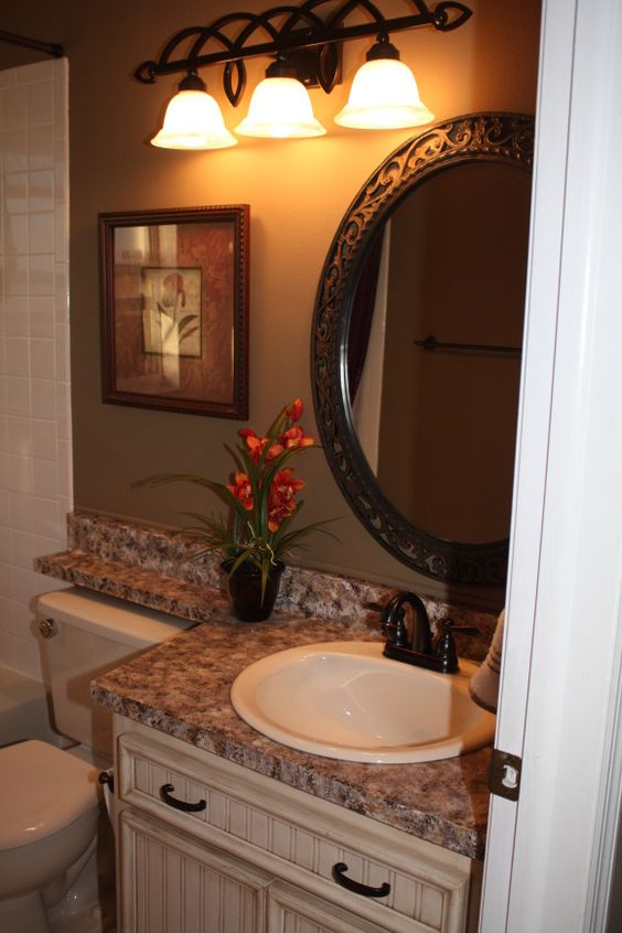 Bathroom Countertop Height Painting Interesting Design Decoration