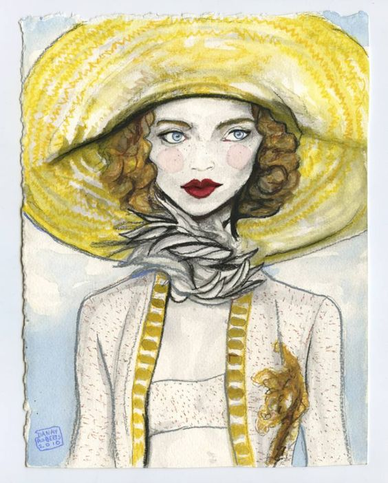Buy From Spring to Summer, a Watercolor on Paper by Danny Roberts from United…