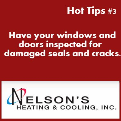 Hot Tips 3 Heating Cooling Tips Windows Save Energy
