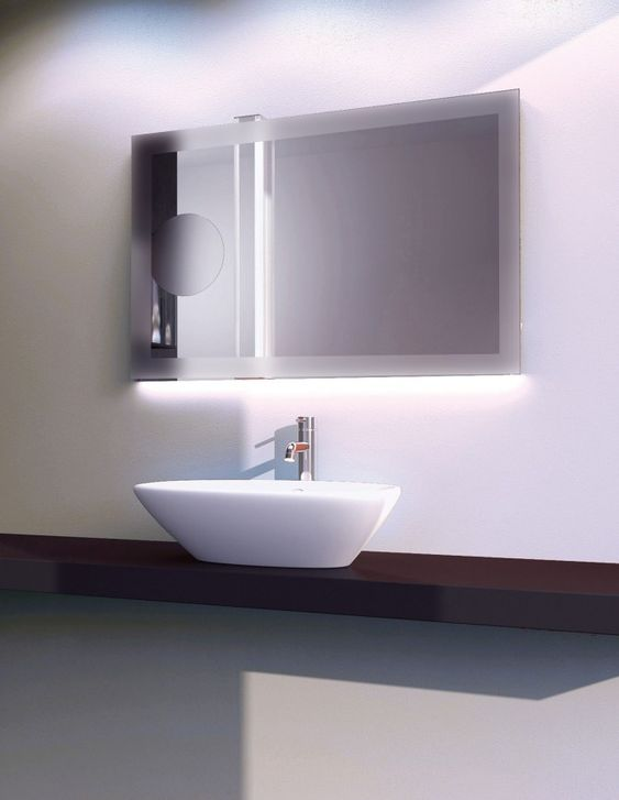 Bathroom Design Mirrors And Lighting : Best bathroom mirrors with led lights