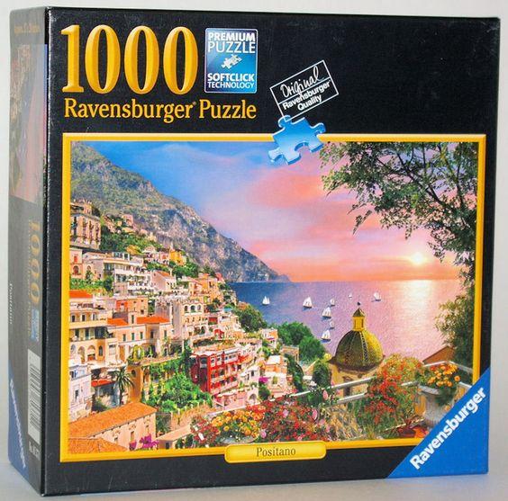 Ravensburger 1000 Piece Jigsaw Puzzle POSITANO Artist - Dominic Davidson