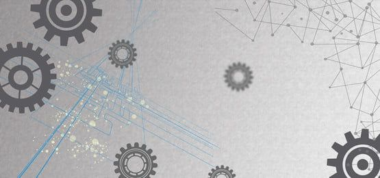رمادي مادة تكنولوجيا العتاد ملصق معدات المواد خلفية نقطة خطوط الرمادي علمية الخلفية تقنية عالية Technology Posters Poster Template Tech Background