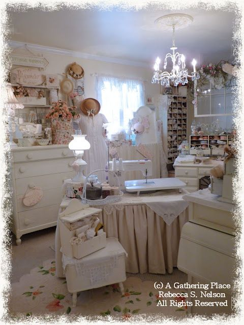 A Gathering of Thoughts  Craft Room