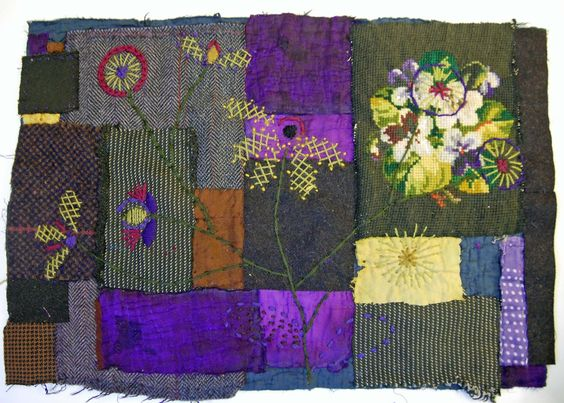 Thread and Thrift: Mandy Pattullo Fabric Collage