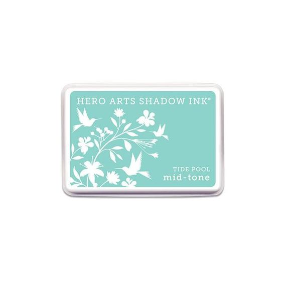 Hero Arts Shadow Ink Pad TIDE POOL