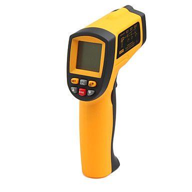 termômetro digital infravermelho com mira laser (-50 'c ~ 700'c / -58' f ~ 1292'f) – EUR € 38.91