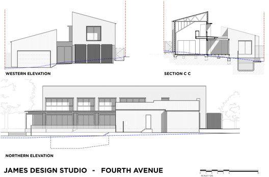 Gallery Of Garden House James Design Studio 19 House House Plans House Styles