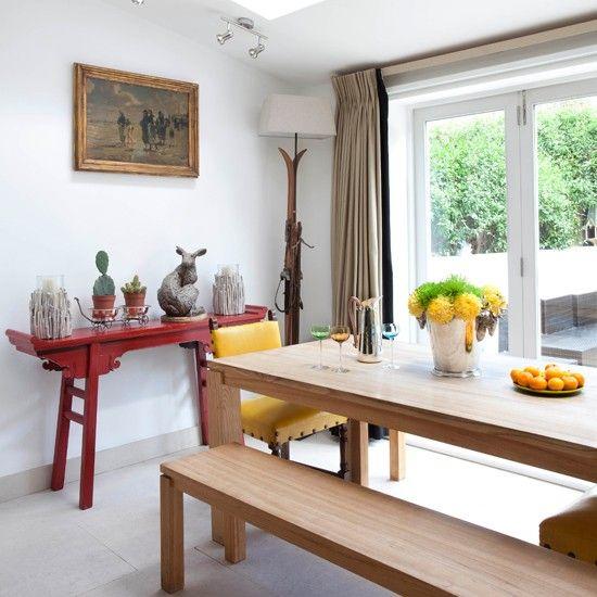 Informal dining room