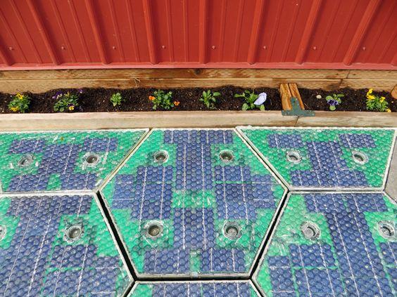 a Solar Panel driveway