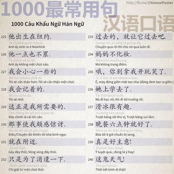 1000 Câu Khẩu Ngữ - Phần 15: