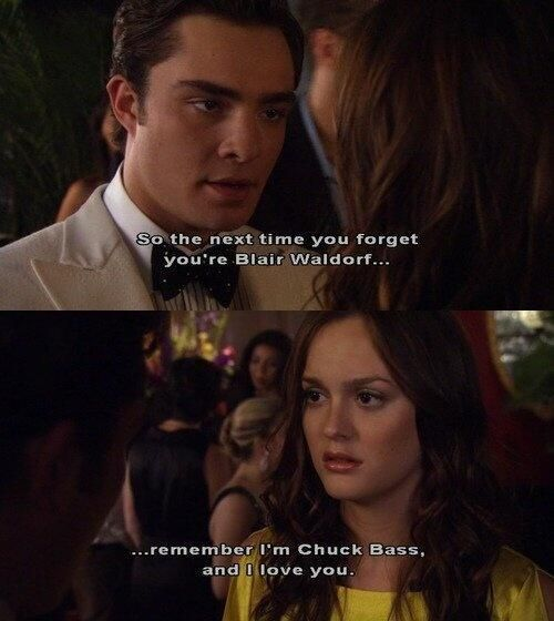 """""""So the next..""""-  Chuck Bass, #Gossip Girl #BlairWaldorf #BlakeLively #LeightonMeester #EdWestwick #ChaceCrawford"""