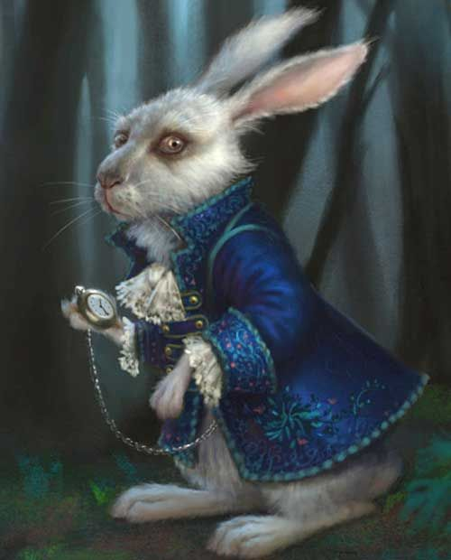 Alice Through The Looking Glass Rabbits Name