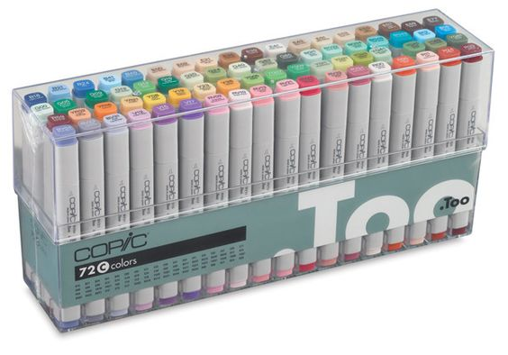 Original Marker Sets by Copic