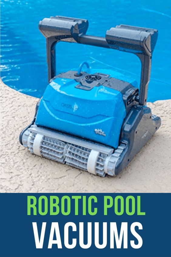 Find the perfect Robotic Pool Vacuum. This awesome robotic pool cleaner is ideal for in-ground swimming pools up to 50 feet. The Dolphin Oasis Z5i robotic pool cleaner features a heavy duty dual scrubbing brushes that forcefully attack tough dirt and debris leaving your swimming pool floor, walls and waterline exceptionally clean in about 2.5 hours.